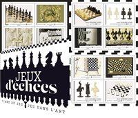 Francia - Ajedrez - Carnet nuevo