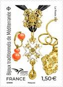 Frankrig - Traditionelle middelhavssmykker - Postfrisk frimærke