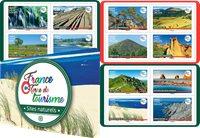 Frankrig - Turistatttraktioner - Postfrisk hæfte