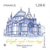 Frankrig - Saint Louis kapellet - Postfrisk frimærke