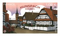 Frankrig - Hunspach - Postfrisk frimærke