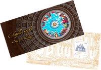 Frankrig - Saint Louis kapellet - Postfrisk miniark i folder