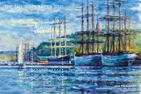 Åland - Tall Ships Races - Postfrisk miniark