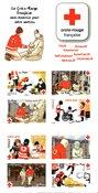 Frankrig - Røde Kors - Postfrisk frimærkehæfte/-miniark