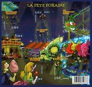 Frankrig - Byfest - Postfrisk miniark