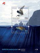 Madeira - EUROPA 2021 Truet nationalt dyreliv - Postfrisk miniark