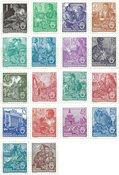 DDR 1953 - MICHEL 405-422 / AFA 217-234 - Postfrisk