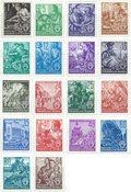 DDR 1953 - MICHEL 362-379 / AFA 176-193 - Postfrisk