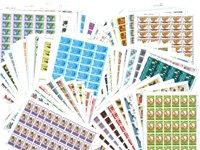 Britse Koloniën - 200 verschillende complete postfrisse vellen