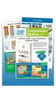 Postimerkkien Maailma - LPG214
