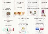 Germania - Lotto di doppi con circa 90 buste primo  giorno