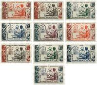 Koloniserie 1950 Socialt arbejde
