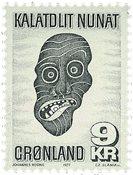 Grønland 1977 - AFA 103 - Postfrisk