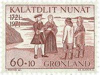 Grønland 1971 - AFA 78 - Postfrisk