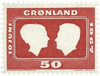 Grønland 1967 - AFA 67 - Postfrisk