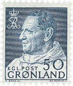 Grønland 1963-64 - AFA 56 - Postfrisk