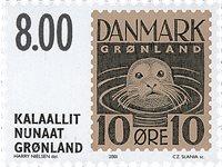 Grønland 2001 - AFA 380 - Postfrisk