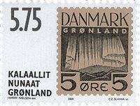 Grønland 2001 - AFA 379 - Postfrisk