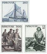 Færøerne - AFA 97-99 komplet