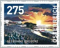 Østrig - Seebühne Bregenz - Postfrisk rullefrimærke
