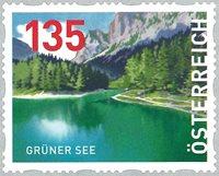 Østrig - Grüner See - Postfrisk rullefrimærke