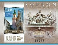 Ungarn - Sopron by - Postfrisk miniark
