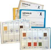 Danmark - 3 restudvalgshæfter med min. 100 frimærker - Postfrisk