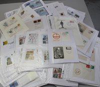 Tyskland 1947-2011 - Samling af førstedagskuvertermed frimærkernes dag