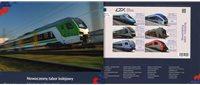 Polen - Modern rolling stock - Postfrisk miniark i folder