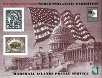 Marshall Øerne 2006 - Washington frimærkeudstilling 2006 - Postfrisk miniark