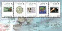 New Zealand - 150-året for frimærker - Postfrisk miniark