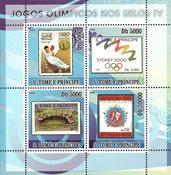 Sao Tome & Principe 2008 - Olympiske lege IV - Postfrisk miniark