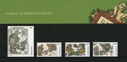 Danmark 2009 - Gamle Danmarkskort - AFA souvenirmappe 85