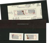 Danmark 2014 - Håndskrifter - AFA souvenirmappe 114