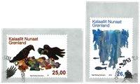 Miljø i Grønland III - Førstedagsstemplet - Sæt