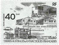 TAAF 1989 - PA104  - Postfrisk