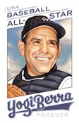 USA - Yogi Berra - Baseball - Postfrisk frimærke