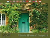 Sepac 2019: Historic Homes of Europe - Førstedagsstemplet - Souvenirmappe
