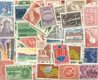 Danimarca - Pacchetto con francobolli nuovi incisi  incl. doppi