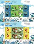 FN Wien - Olympiske lege Tokyo 2020 - Postfrisk sæt småark