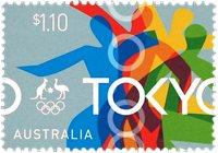 Australien - Olympiske lege Tokyo 2020 - Postfrisk frimærke