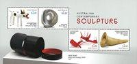 Australien - Skulpturer - Postfrisk miniark