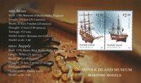 Norfolk Island - Skibsmodel - Postfrisk miniark