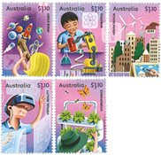 Australia - Science - Mint set 5v
