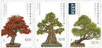 Australie - Arbres bonsaïs australiens - Série neuve 3v