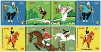 FN Wien - Olympiske lege Tokyo 2020 - Postfrisk sæt 8v