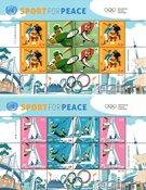 FN New York - Olympiske lege Tokyo 2020 - Postfrisk sæt småark