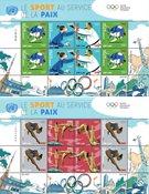 FN Geneve - Olympiske lege Tokyo 2020 - Postfrisk sæt småark