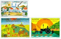 Algeriet - YT 587-89 - Postfrisk
