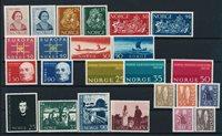 Norge - Årgang 1963 - Postfrisk